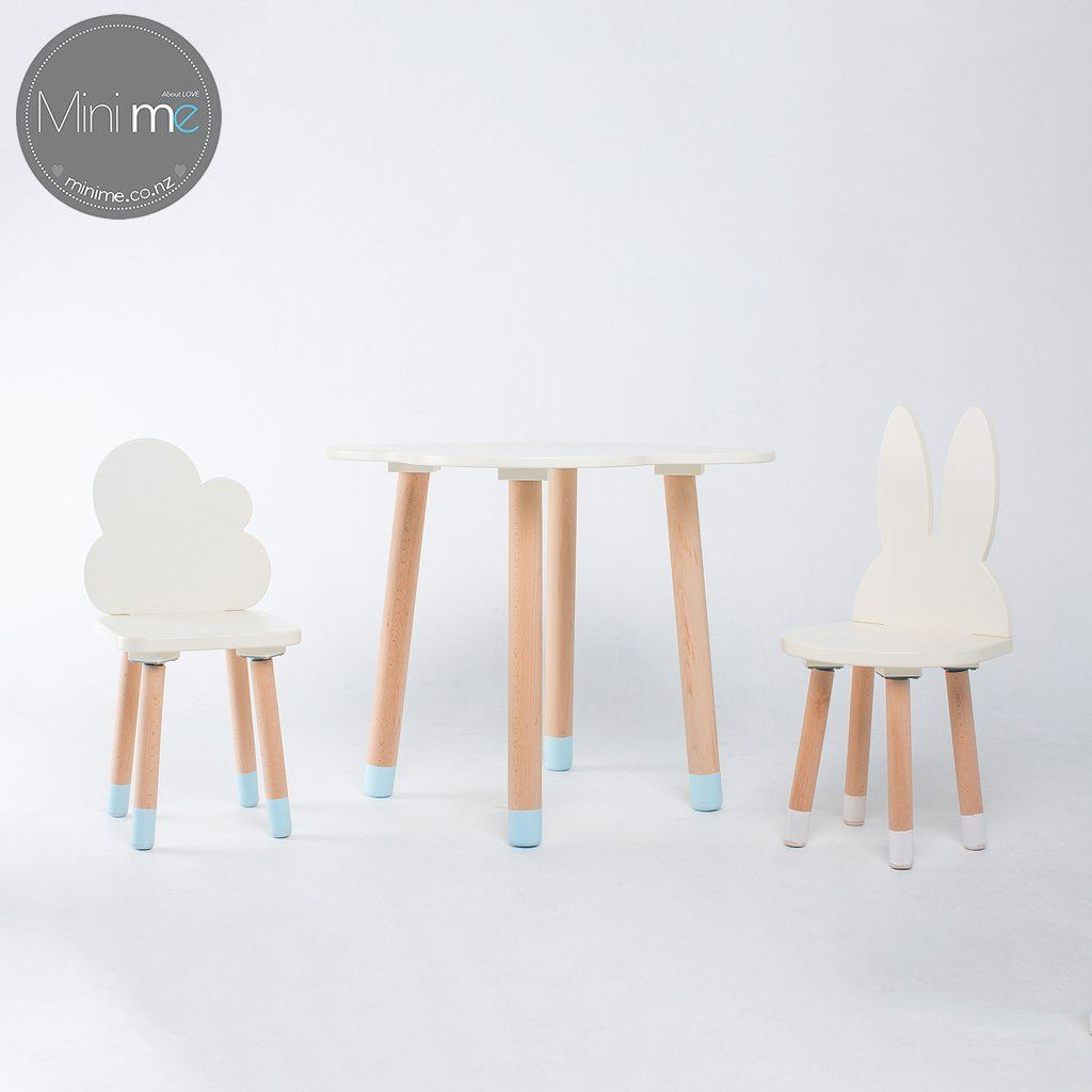 Fun Wooden Kids Table And Chairs Set