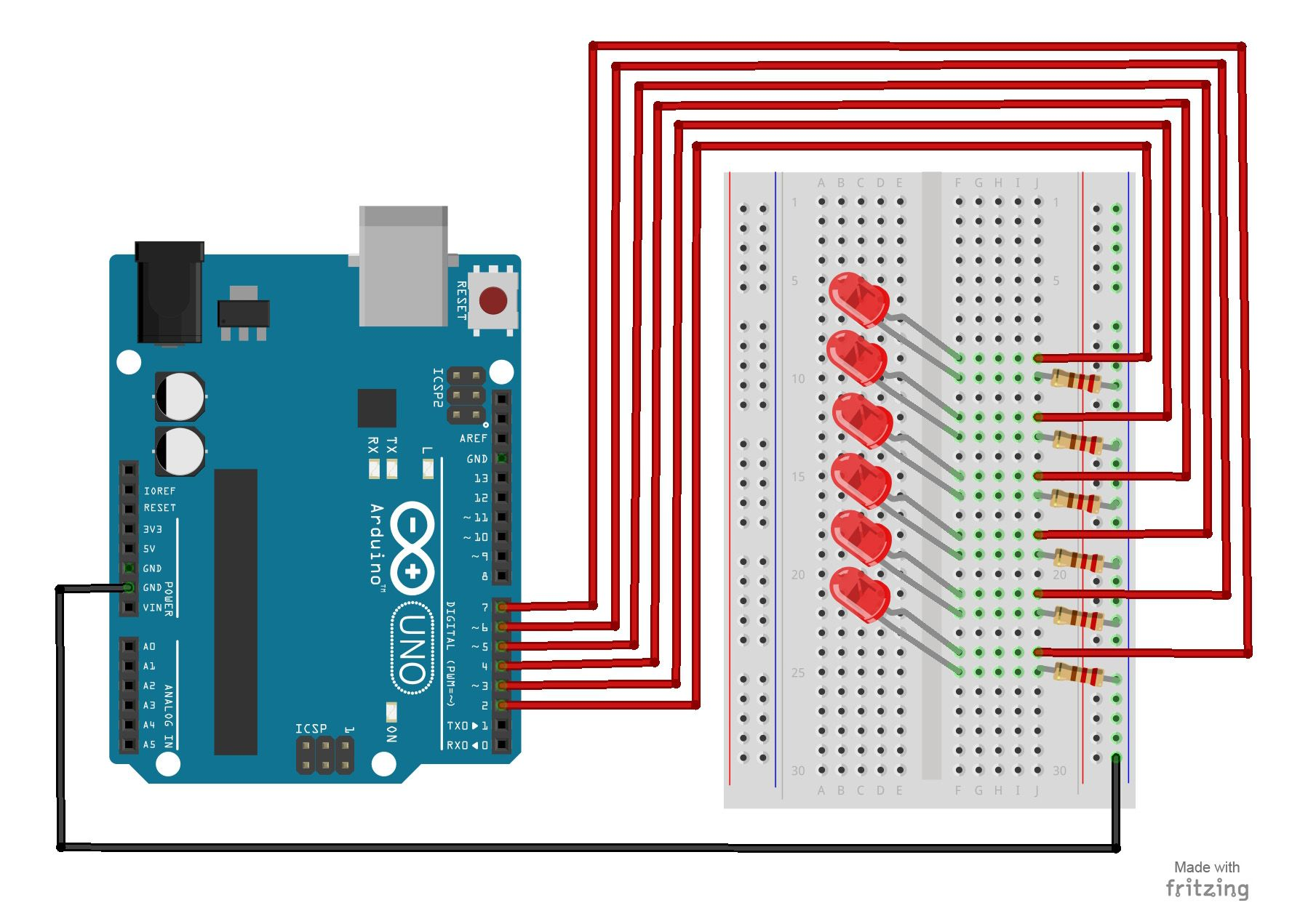 Pighixxx Connect A Ir Sensor Electronica T Green Usb Switch Circuit Diagram Projects Nonstopfree Arduino Uno For Beginners