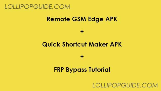 Remote GSMedge APK Free Download for Android [NEW] (With