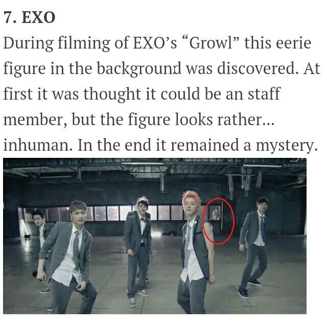 7 Haunting Faces Caught On Camera With Kpop Idol Crazy People Things To Think About Mystery
