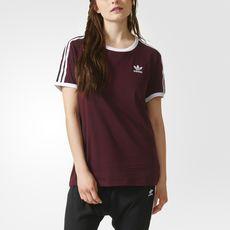 5c49604ff5 adidas - 3-Stripes Tee | clothes | Adidas, Adidas women, Shirts