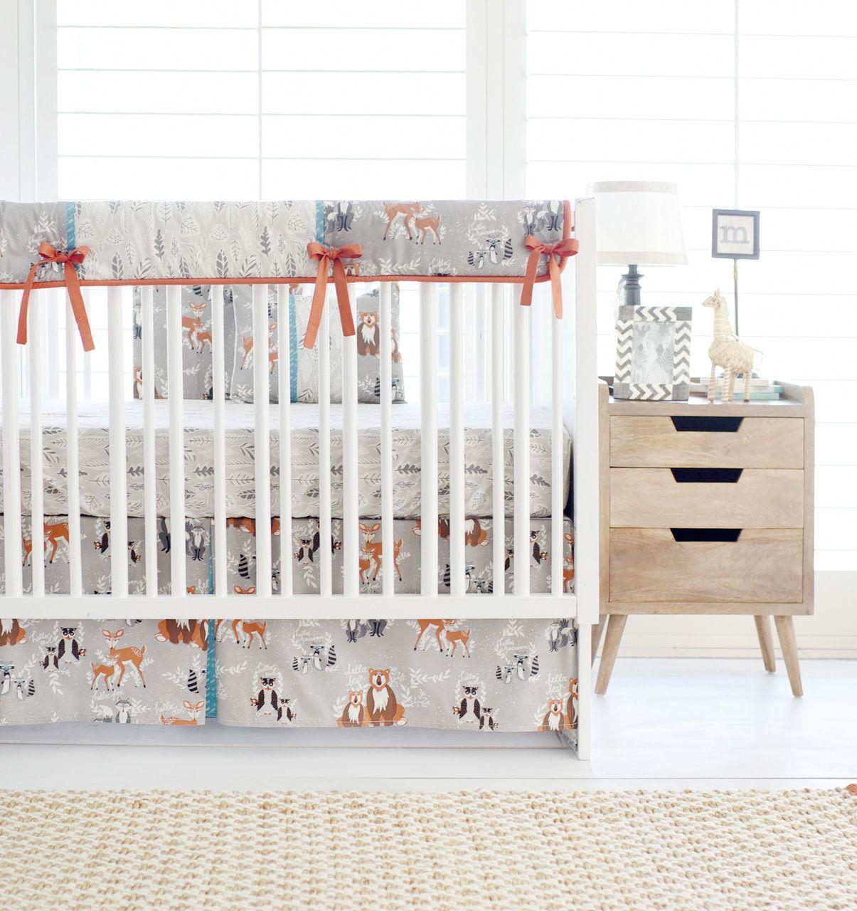 Woodland Baby Bedding, Woodland Crib Bedding