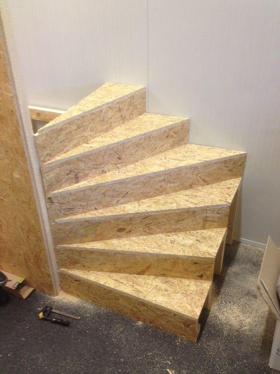Stiegenaufgang selbst Gebaut - Bauanleitung zum Selberbauen - 1-2-do.com - Deine Heimwerker Community #strandhuis