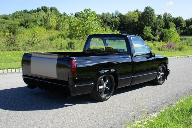 1991 Chevrolet C1500 Custom Pickup Rear 3 4 207709 In 2020 Chevrolet Custom Trucks Chevy Trucks