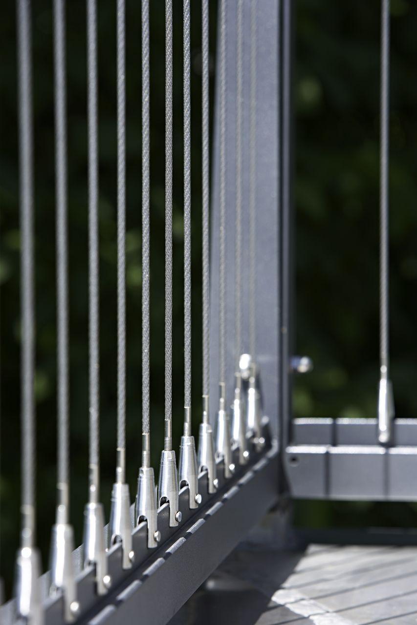 038398.jpg (853×1280) | vertical cable railings | Pinterest | Steel ...