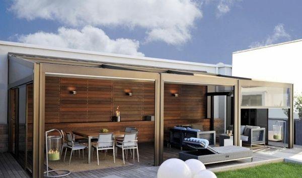 Auvent de terrasse en aluminium pour votre espace extérieur