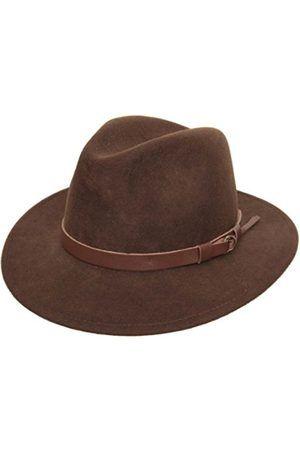 Hombre Sombreros - Sombrero fedora hombre Classique Traveller - talla 59 cm 7d1248a0aa6