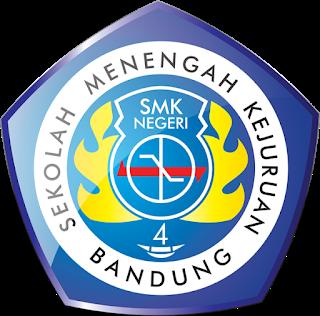 Logo Smkn 4 Bandung Sekolah