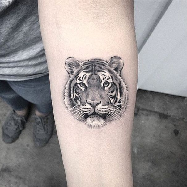 Beste Tiger Tattoos Fur Manner