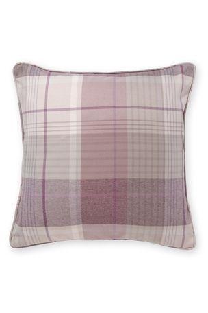Woven Check Mauve Cushion --- Next.co.uk | purple furniture ...