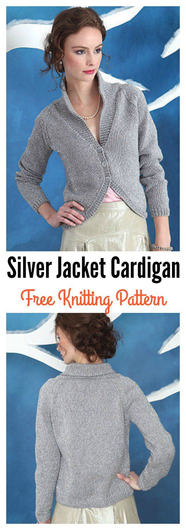 Stylish Cardigan Sweater Free Knitting Patterns | Knit patterns ...