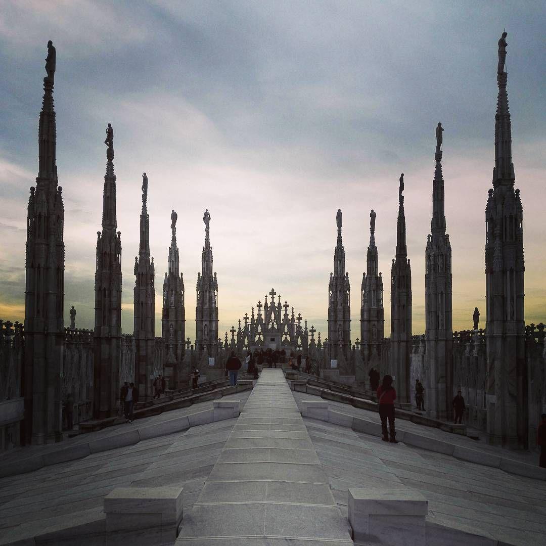 Terrazze del Duomo #Milan #Milano #milanodavedere #milanodavivere ...