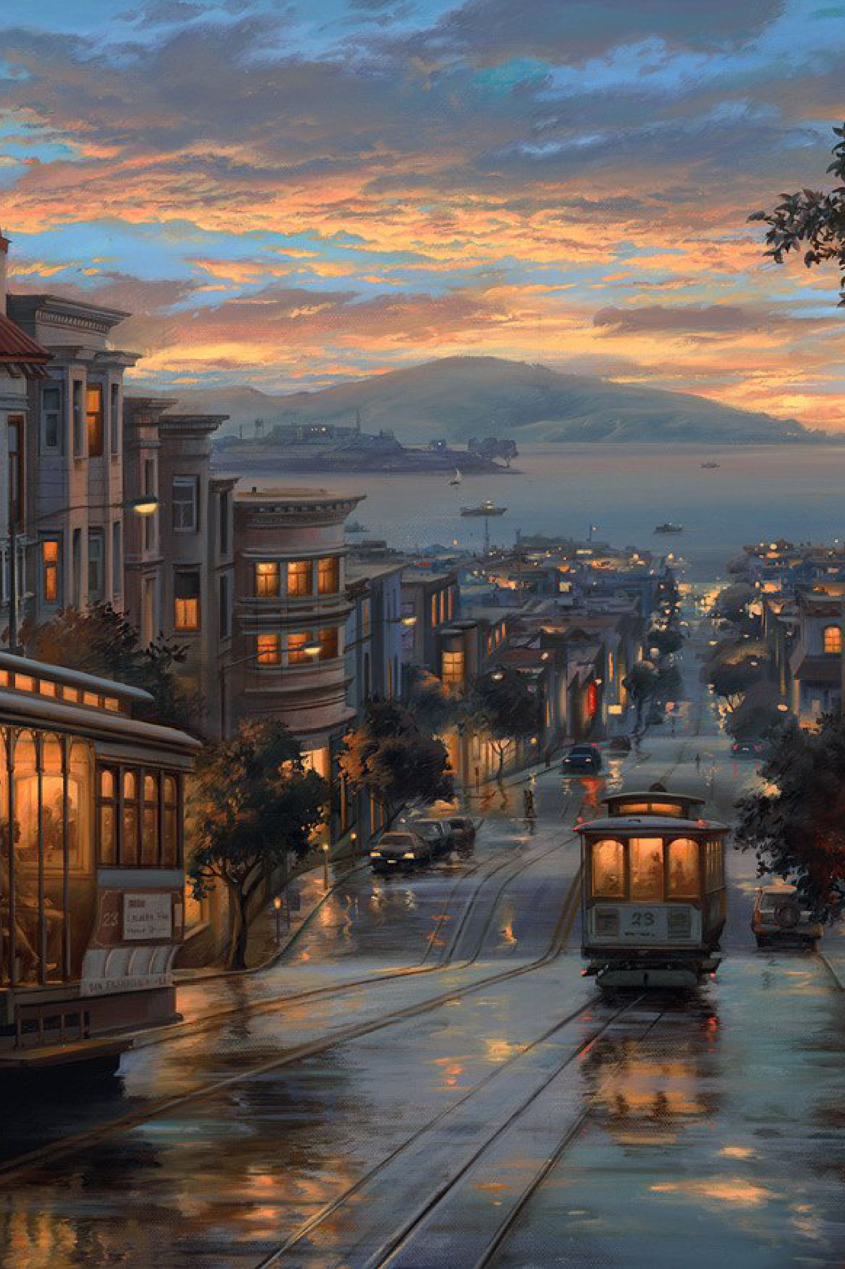 San Francisco, Cable Car Heavens