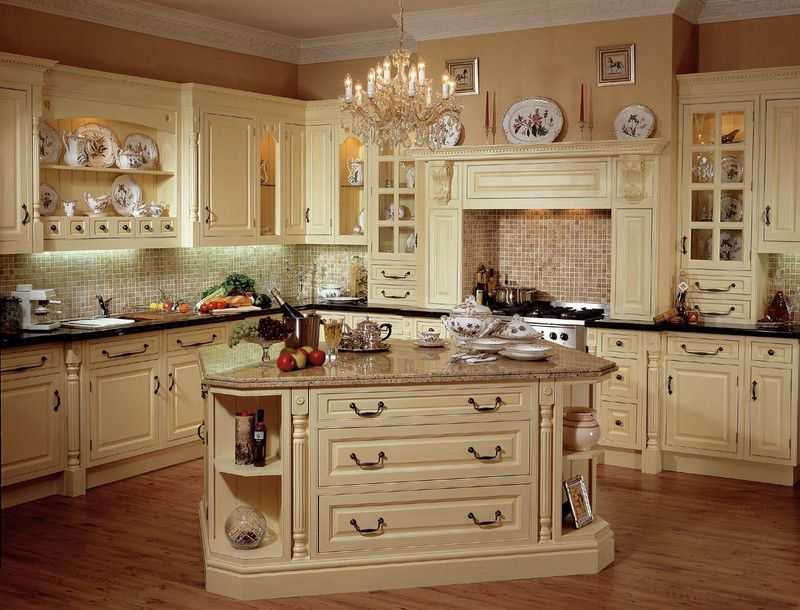 White Over Brown Cabinets Kitchen Grande Bridge Kitchen Faucet French Country Kitchen Ideas
