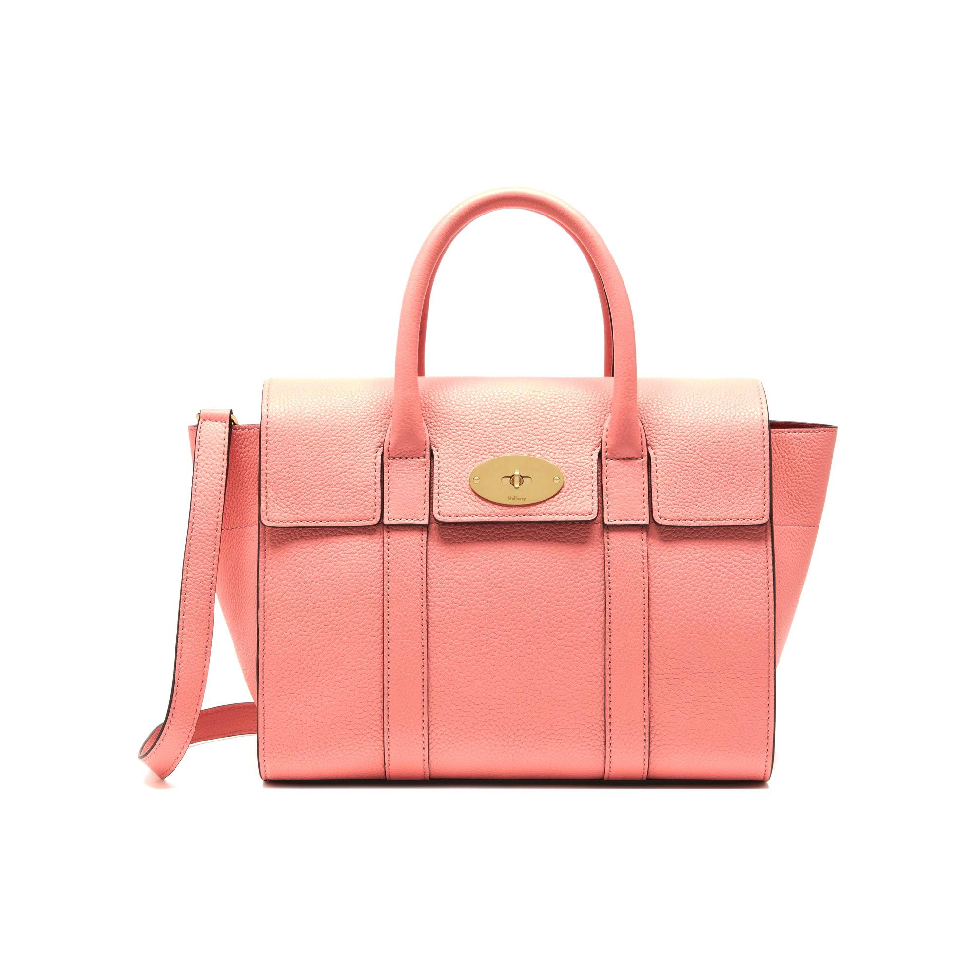 Mulberry Small New Bayswater Macaroon Pink Small Classic Grain Pink is  pretty anytime 51616d70720e1
