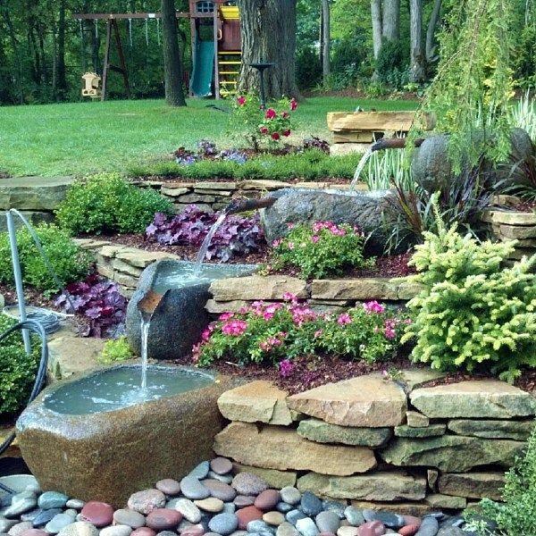 Potager Garden Design Ideas: Water Gardens, Water Features, Ponds