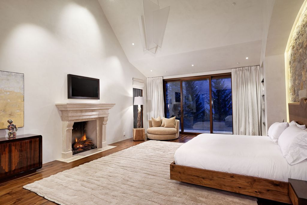 Aspen contemporary with eclectic and soft modern home