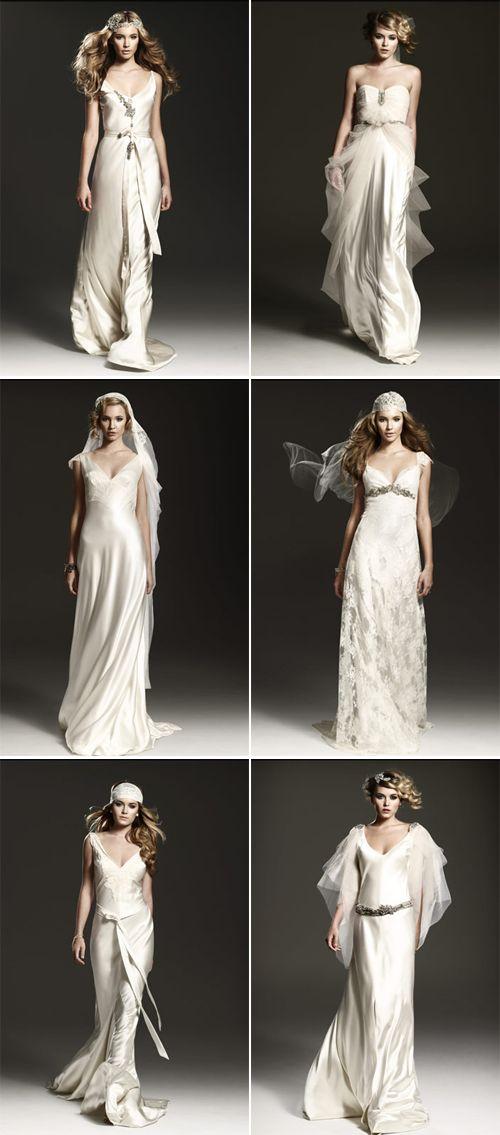 Old world glamour wedding dresses