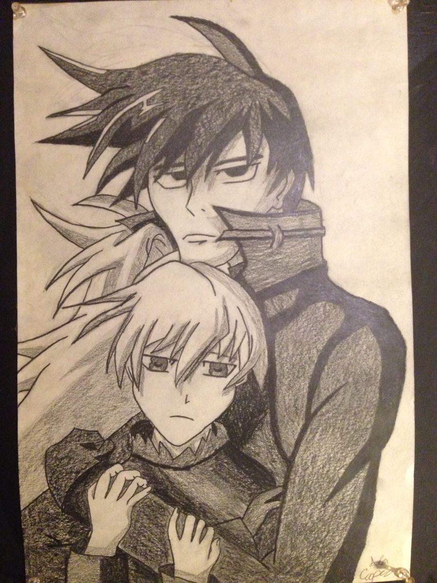 Dtbdarker than black anime anime drawings character