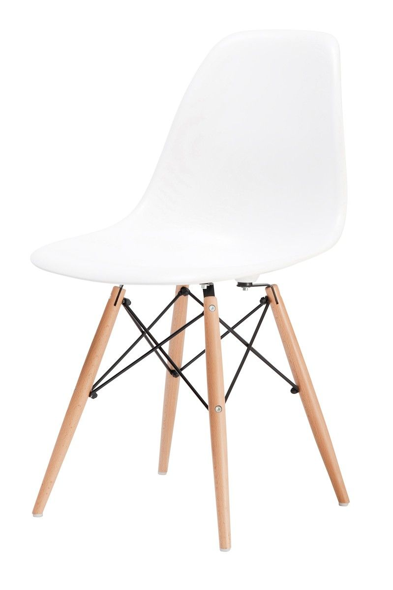 Replica Charles Eames Dining Chair (Wood Legs)    Ray And Charles Eames  Designed