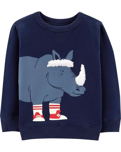 Carters Langarmshirt f/ür Junge Sweatshirt Boy Outfit Pullover