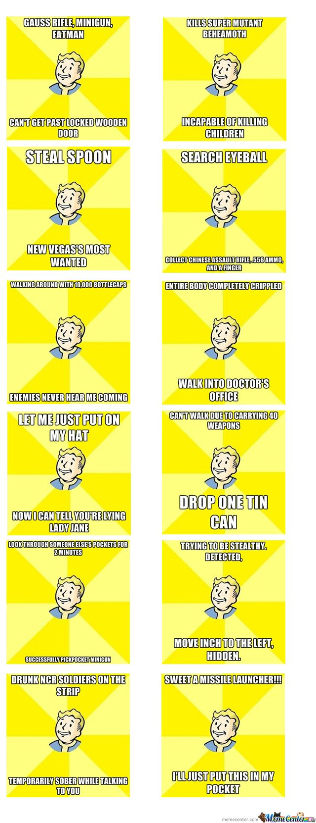 Opinion fallout 3 funny memes removed