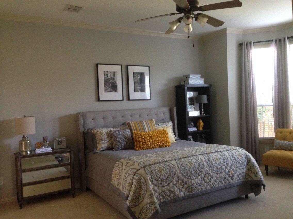Best Gray French Yellow Bedroom Sherwin Williams Repose Gray 400 x 300