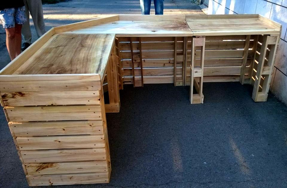 Best Pallet Projects Wooden Pallet Bar Pallet Bar Diy Pallet Bar