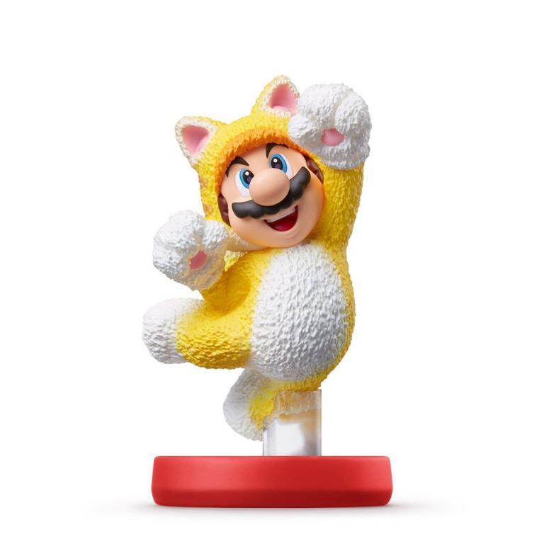 Super Mario Bros Cat Mario Amiibo Universal Gamestop In 2021 Amiibo Nintendo Amiibo Nintendo Switch System