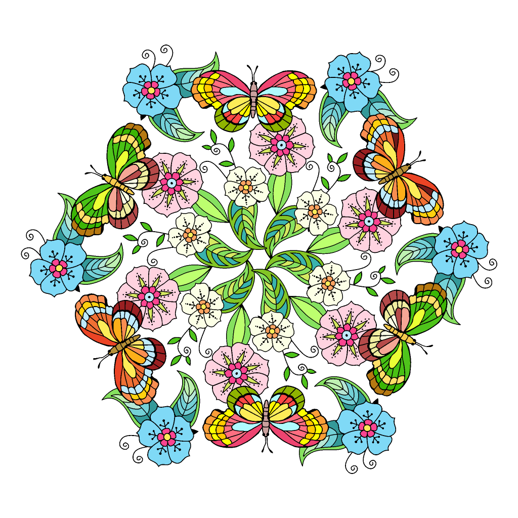 Pin By Buffie Schuster On Haft Coloring Book App Colorful Art Happy Colors