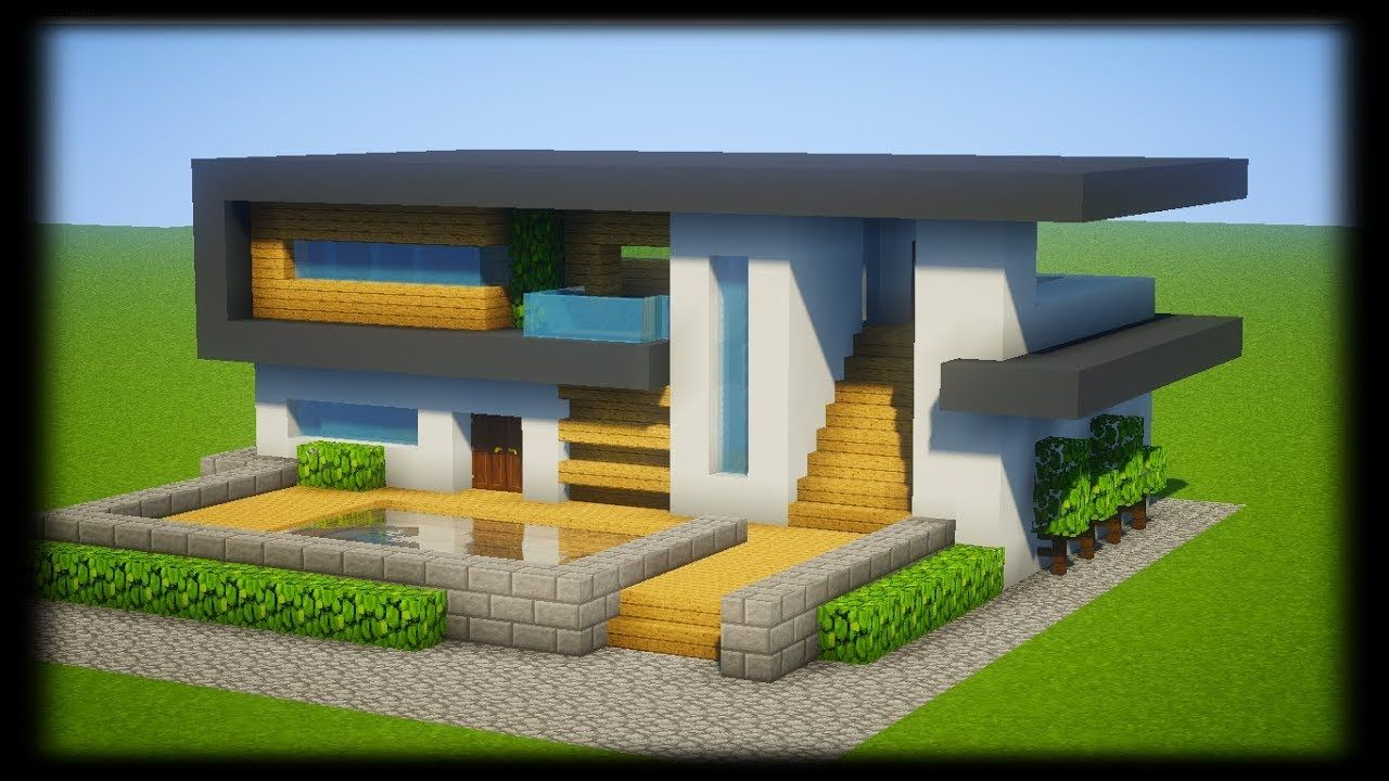 Image De Maison Moderne maison moderne minecraft - recherche google (dengan gambar)