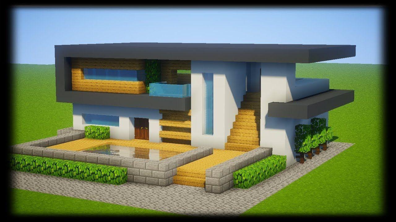 maison moderne minecraft - Recherche Google | Jeux video en ...
