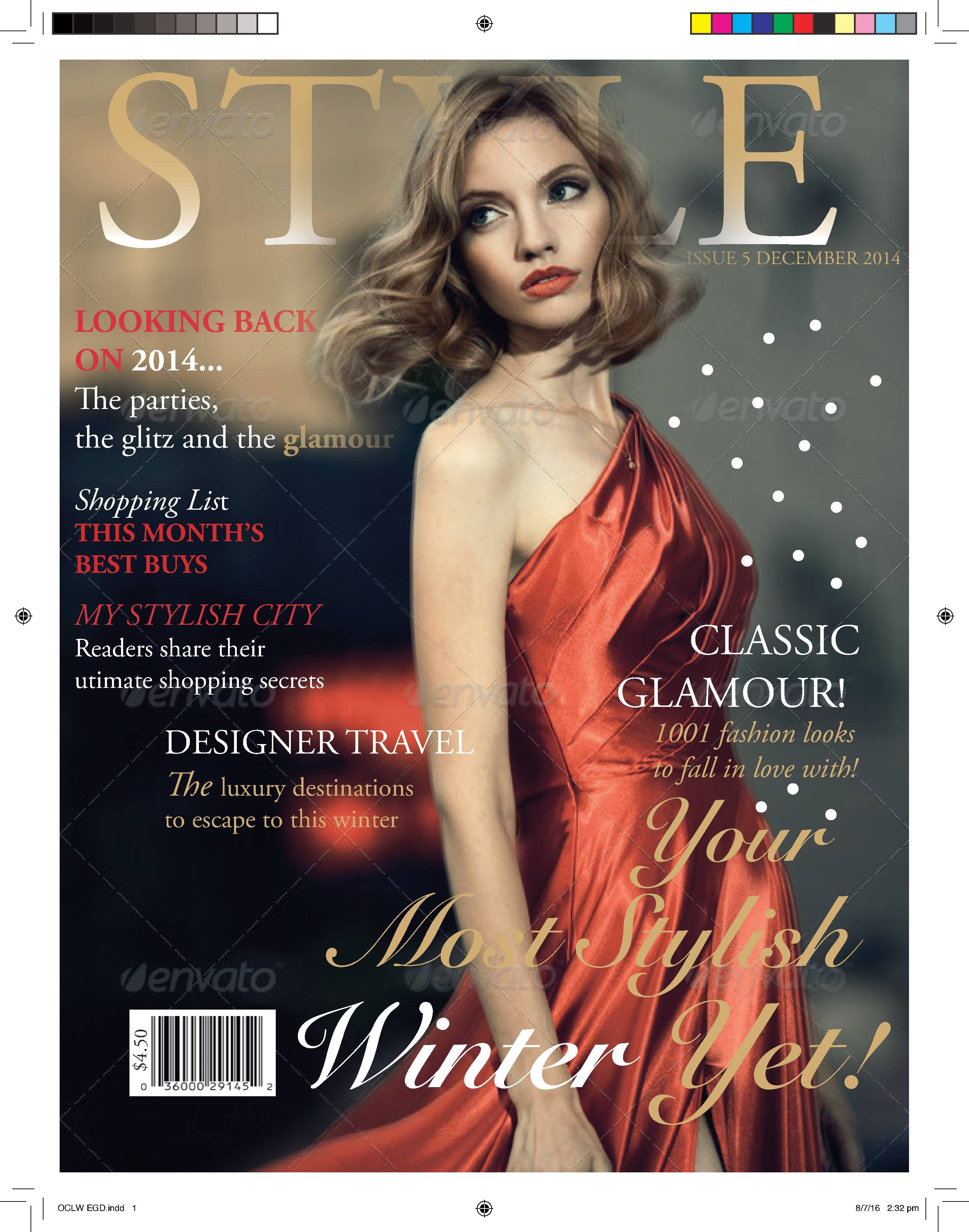 Pin By Pang Yong Lun On Tutorial 11 Editorial Design 2 Magazine Layout Fashion Magazine Cover Magazine Cover Design Indesign Tutorials