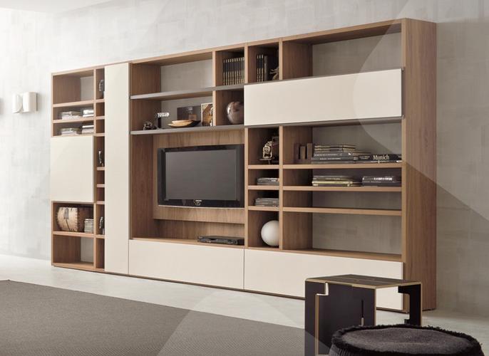 Mueble Decorativo Y Funcional Para Sala De Tv Interiors In 2018