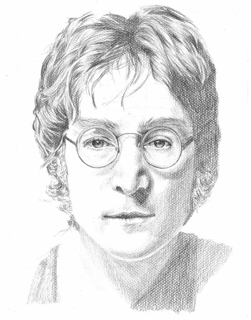 John Lennon Beatles Art John Lennon Beatles Wallpaper