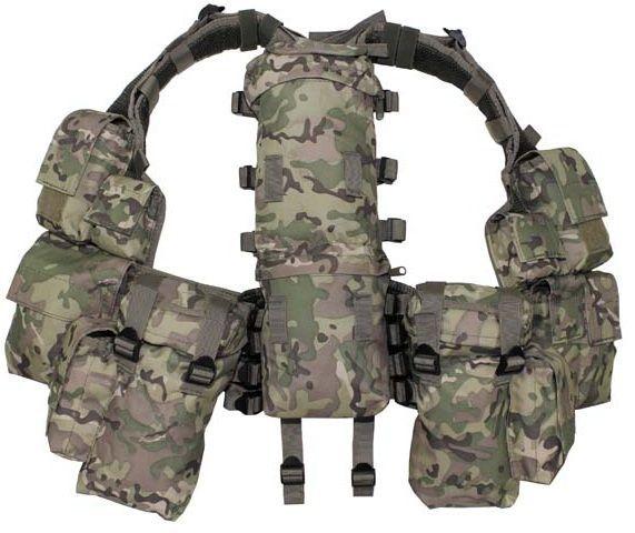 MFH Tactical Weste mit vielen Taschen, operation-camo / mehr Infos