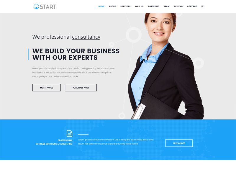 Start is a clean and luxurious free joomla business template it is start is a clean and luxurious free joomla business template it is very useful to cheaphphosting Images
