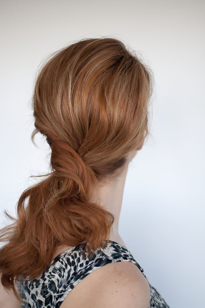 The clean hair guide to the messy ponytail - Style Studio