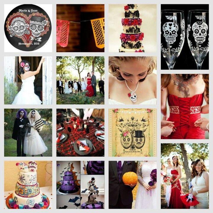 Day of the dead wedding theme | WEDDING IDEAS | Pinterest | Wedding ...