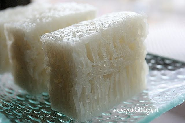 Chinese White Honeycomb Cake By Pak Koh Vegan Recipe