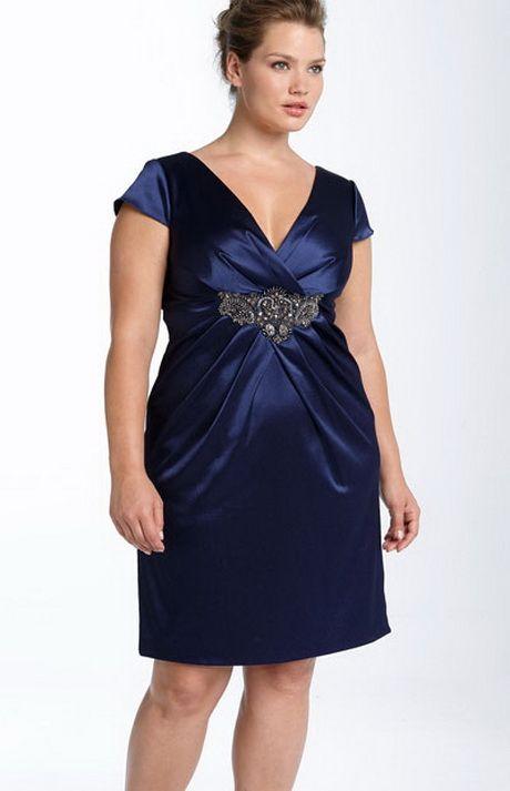 Modelos de vestidos para mujeres obesas