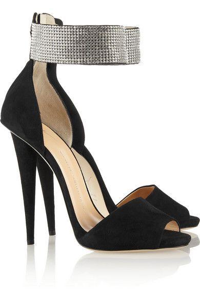 Giuseppe Zanotti Women's Alien Crystal Embellished Sandal 6FxMuW9