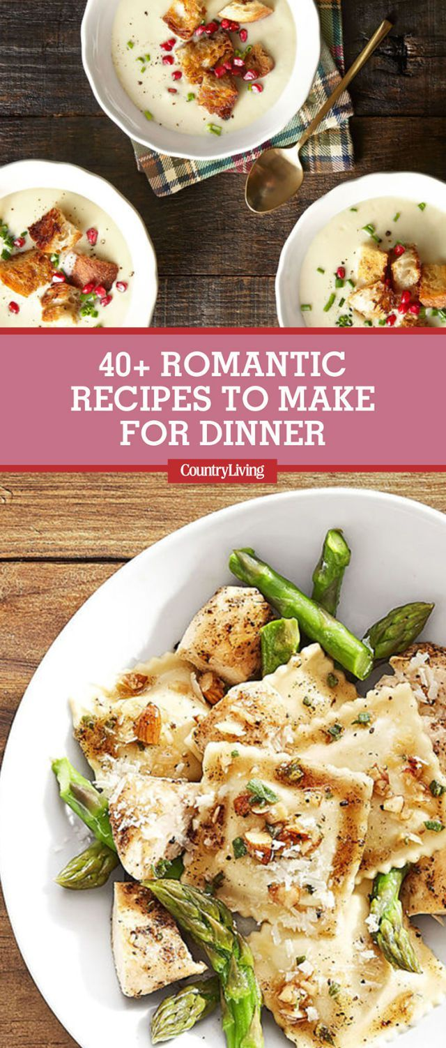 Romantic Foods For The Bedroom: 50+ Romantic Recipes For Valentine's Day Dinner
