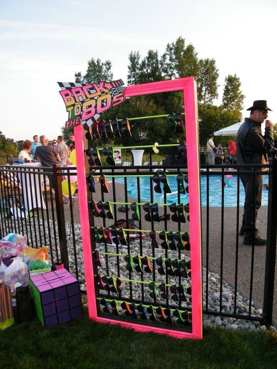 50th birthday party thecitycollection 80s party Pinterest