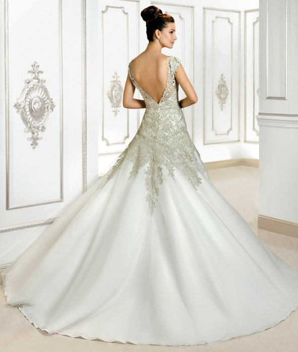 Our Wedding The Details: Cosmobella 2015 Preview Style 7741 By Demetrios Www