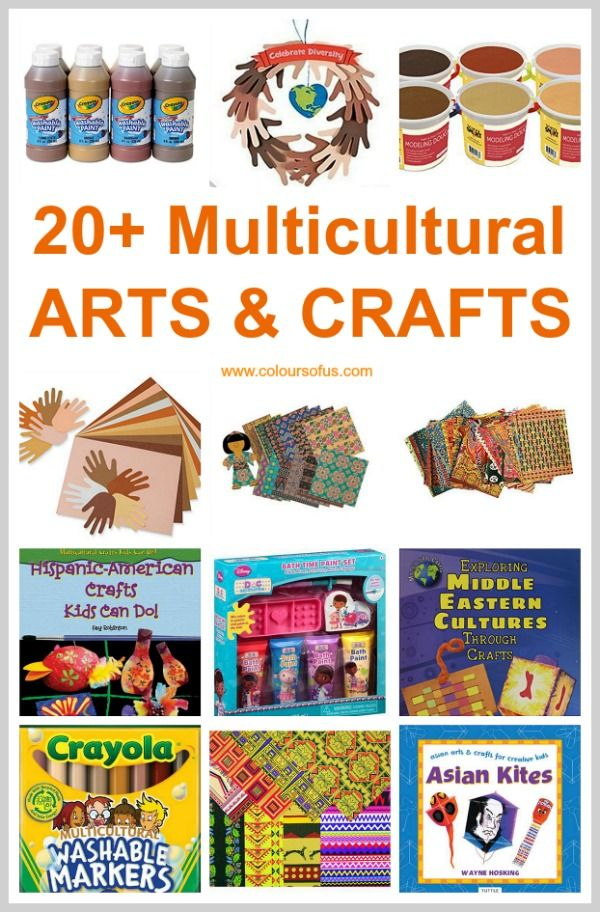 Multicultural Arts Crafts For Children With Images Crafts