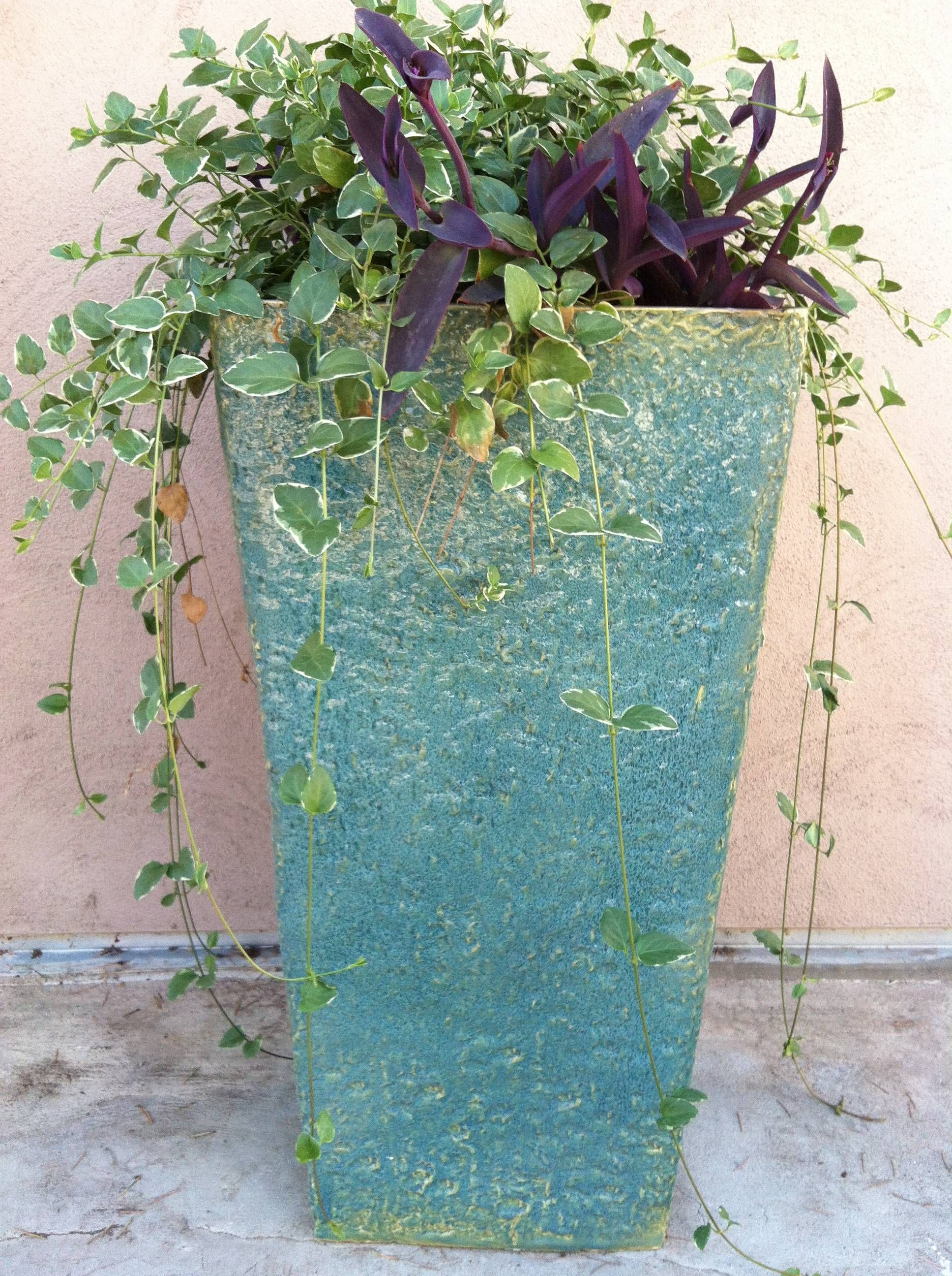 Landscaping With Large Planters : Large planters susan s ceramics texas landscaping