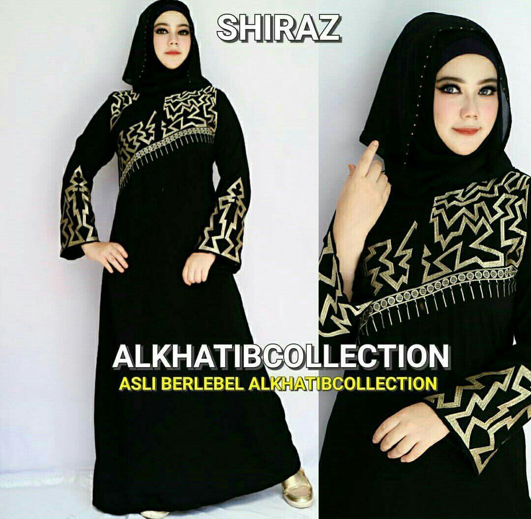 Baju Gamis Abaya Shiraz Ori Alkhatib, 11.11.11, Farisa