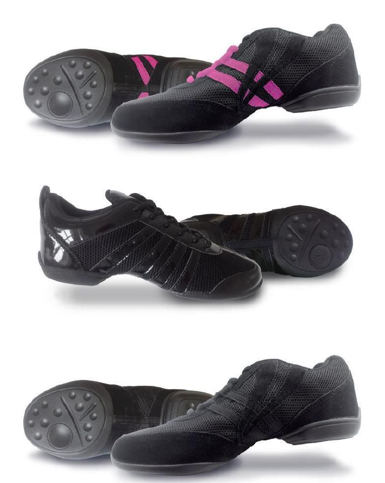 child adult - 12 Split Sole Dance Sneakers // Trainers Roch Valley UKSizes 12