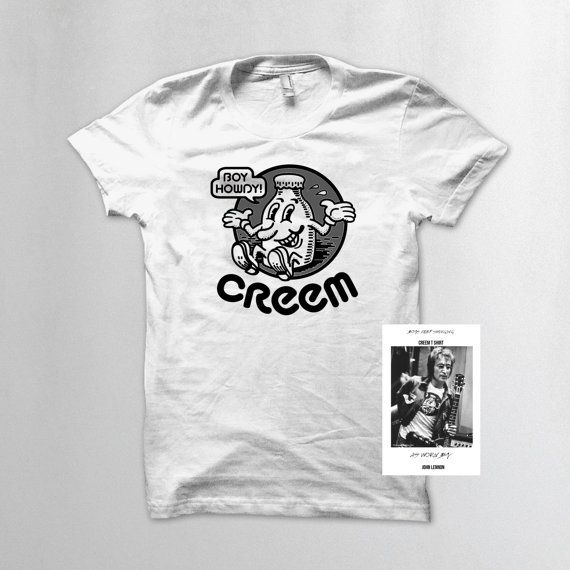 Creem Magazine T Shirt As Worn By John Lennon